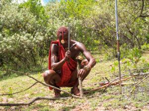 Bush Expedition Maasai Kenia